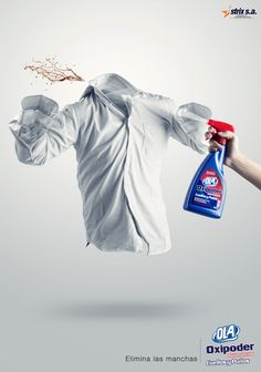 Advertising Campaign : Ola: Eliminating stains, 1 Advertising Campaign Inspiration Ola: Eliminating stains, 1 Advertisement Description Ola: Eliminating stains, 1 Sharing is caring ! Creative Advertising, Ads Creative, Creative Posters, Advertising Poster, Advertising Campaign, Advertising Design, Marketing And Advertising, Logos Retro, Vintage Logos