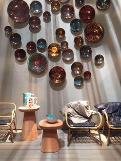Milan Design Week: the Vogue Living day 2 diary : Baxter's display.
