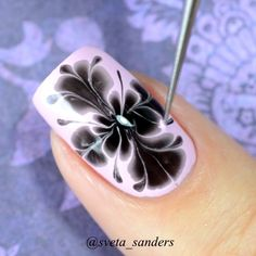 #videotutorial  #PicturePolish Twinkle & Black,  Tool for marble by @picturepolish  @lakodom  Music: Calvin Harris feat. Ellie Goulding - Outside
