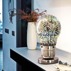 3D Firework Table Lamp
