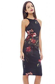 52f82cd7262c Bodycon Off Shoulder Dress/ Black Bardot Neckline- Floral Bodycon Knee  Length Elegant Dress   Clothes   Dresses, Black midi dress, Bodycon dress