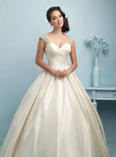 https://www.facebook.com/angeliquebridalandformalbygina  Angelique Bridal & Formal by Gina, Inc.  Allure Bridals # 9204 is their Style of the Week, a ballgown fit for a queen!! Angelique Bridal & Formal by Gina, Inc. is a proud retailer for Allure Bridals! Please visit us today!