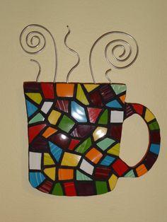 Mosaic Coffee Mug - Tikimann3