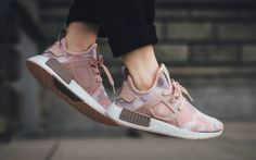 adidas NMD XR1 Duck Camo pack pink for women
