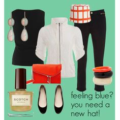 """feeling blue?"" by julie-price-thiede on Polyvore"