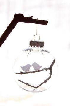 JAME: [HOLIDAY DECOR] glass ornaments with DELIA @ DELIA CREATES