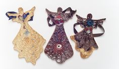 Beautiful handmade two-dimensional Ceramic Angels!  Each is one-of-a-kind, prayerfully made in NE Minneapolis to promote healing, harmony and peace for the receiver. Prices range from $14 - $29 each. 4 Angels Creations, 2653 Stinson Boulevard, Minneapolis. www.4angelscreations.com