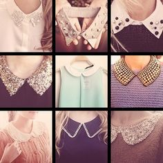 for anyone who knows me... i <3 any clothing item with collars! = = peter pan collars