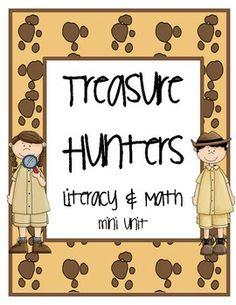 Literacy and Math mini unit grade 1-2