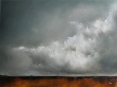 """Cloudscape"" by Adam Hall - wow!  (oil?)"