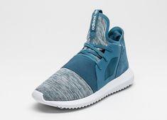 sports shoes b63fc 5472c Tienda de descuento adidas Tubular Defiant Mujer Blanch Azules Blanch  Azules Núcleo Blancas S75254
