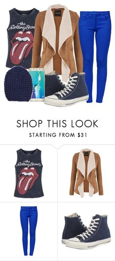"""""""Untitled #486"""" by sara-bitch1 ❤ liked on Polyvore featuring Topshop, maurices, Boutique Moschino, Converse and Samsung"""