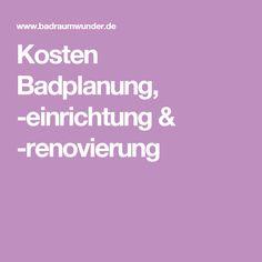 Badezimmer-Renovierungen Kosten Badplanung, -einrichtung & -renovierung