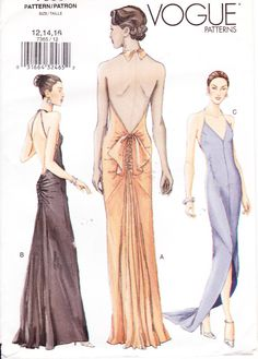 Patterns for 1920s evening dresses