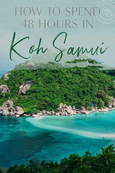 Koh Samui deserves a spot on any Thailand island hopping itinerary. It's home to a lush forest full of hidden waterfalls, beautiful sand-white beaches, tons of adventurous activities and an excellent party scene.There's something for everyone on Koh Bangkok Itinerary, Bangkok Travel Guide, Thailand Travel Tips, Asia Travel, Travel Plane, Travel Goals, Travel Luggage, Koh Samui Thailand, Phuket