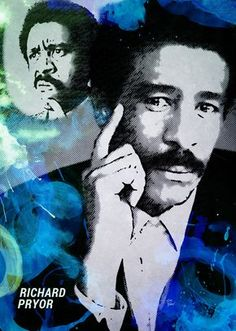 #Art Richard Pryor #BlackHistory Art Series 2K14 (Day 11) Black History Books, Art History, Famous Black Americans, Badass Drawings, Richard Pryor, Hulk Art, Black Women Art, Black Man, Black Art Pictures