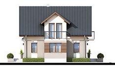 DOM.PL™ - Projekt domu ZA Dom w Teksasie CE - DOM ZA1-51 - gotowy koszt budowy Shed, Outdoor Structures, Mansions, House Styles, Home Decor, Decoration Home, Manor Houses, Room Decor, Villas