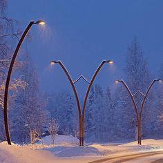 Chandelier, Light, Lighting Design and Ideas Sidewalk Lighting, Street Light Design, Lanscape Design, Modern Lighting Design, Landscape Architecture Design, Design Fields, Garden Lamps, Street Lamp, Street Furniture