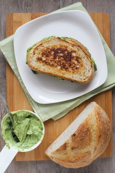 Avocado Green Goddess Grilled Cheese