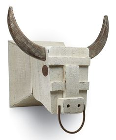 Look what I found on #zulily! Mounted Bull Head by Foreside #zulilyfinds