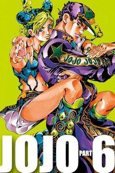 Read JoJos Bizarre Adventure Part 6 - Stone Ocean Chapter The Visitor Part 8 - Sixth story arc of JoJo no Kimyou na Bouken series.The story of Jotaro kujo's daughter, Jolyne Cujoh. Jojo's Bizarre Adventure, Jojos Bizarre Adventure Jotaro, Jojo's Adventure, Jojo Bizarro, Manga Anime, Jojo Parts, Jotaro Kujo, Manga Covers, Jojo Memes