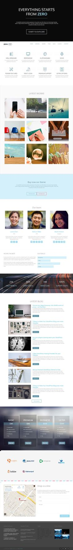 Zero – Multi-Purpose WordPress Theme #HTML5themes #responsivethemes #wordpressthemes
