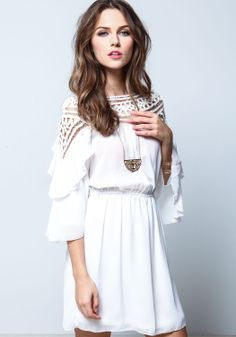 Just bought this dress!! Tiered Dreamweaver Shift Dress - Love Culture.