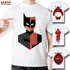 b196ed5b2558b Deadpool Creative Top Cool T Shirt Funny T shirt Fashion Design Style Tee  White Short Sleeve Printed Men Women Tshirt-in T-Shirts from Men s Clothing  ...