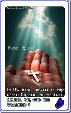 Psalm 31 : 6 / JuichvoordeHeer/FB/Ariënne