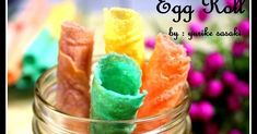 Egg Roll a la Serena Egg Rolls, Food And Drink, Eggs, Cookies, Crack Crackers, Biscuits, Egg, Cookie Recipes, Spring Rolls
