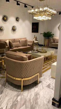 Small Room Design Bedroom, Bedroom Furniture Design, Home Room Design, Living Room Designs, Living Room Decor, Classy Living Room, Home Design Floor Plans, Modern House Design, Architecture