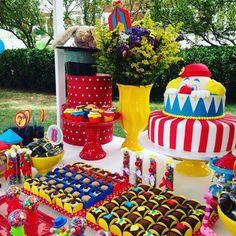 Circo do Benicio Birthday Party Ideas | Photo 1 of 10