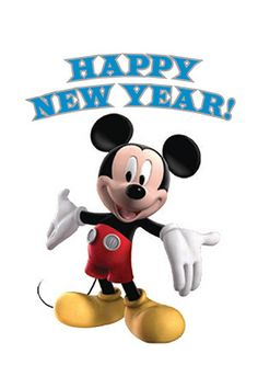 Happy New Year - Mickey Mouse Clubhouse New Year Checklist ...2♡17 ...