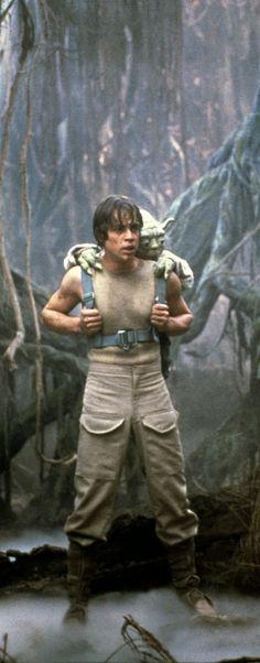 Luke Skywalker and Yoda - Star Wars Run Disney Costumes, Running Costumes, Star Wars Costumes, Halloween 2018, Fall Halloween, Halloween Costumes, Happy Halloween, Baby Yoda Costume, Baby Costumes