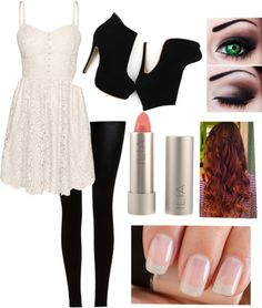 """Little Lace Dress"" by storyofmylife21 ❤ liked on Polyvore"