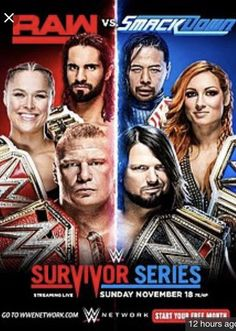 WWE Survivor Series 2018 Pre-Show Matches Backstage, the Raw Women's team is shown getting hyped up and prepared to get even. Wwe Survivor Series, Peyton Royce, Rebecca Quin, Wwe Pay Per View, Royal Rumble, Professional Wrestling, Wwe Wrestlers, Watches Online, Current Events