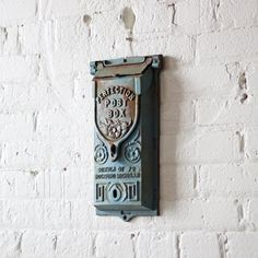 Vintage Mail Box...