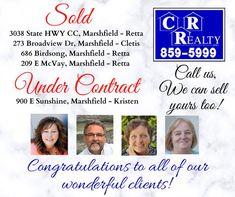 Missouri Real Estate, Congratulations