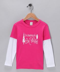 Take a look at this Pink Dreaming Christmas Tee - Toddler & Girls by Blow-Out on #zulily today! #fall