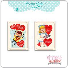 FREE vintage valentine printable