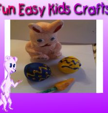 Playdough creations for Easter for toddlers to make and decorate. Easter Play dough recipe on our site. Happy Easter!