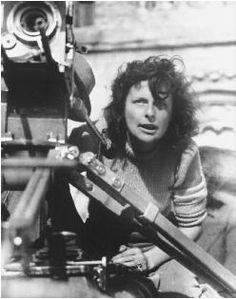 """Leni Riefenstahl, a German actress turned propaganda filmmaker. Best known for Hitler love fest """"A Triumph Of The Will""""."""