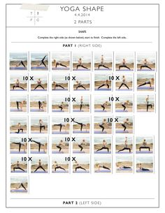 Yoga Shape (with weights)