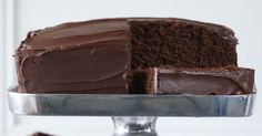 Just melt and mix - it's as easy as that with this simple chocolate cake recipe.