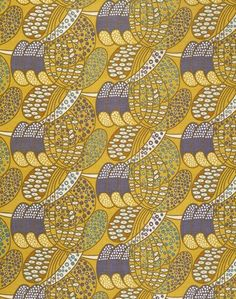 Roller printed cotton, 1922, textile desig by Charles Renne Mackintosh V&A London