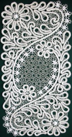 Bobbin lace from the Russian town of Vologda.