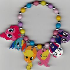 My Little Pony Inspired Bracelet by Oseweverything on Etsy, $7.00