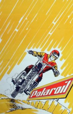 Polaroil, 1960s - original vintage poster listed on AntikBar.co.uk
