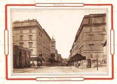 Via Nazionale prima del Tram Anno: ante 1898