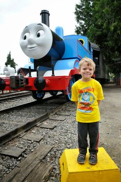 July 21, 2014 - The Day Out With Thomas Thrill of the Ride Tour was another successful event at the Northwest Railway Museum. Nearly 16,000 guests enjoyed a visit with Thomas the Tank Engine, and a multitude of activities.